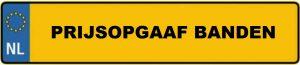 Prijsopgaaf Banden Arnhem